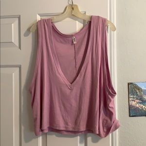 Free people purple tank size L